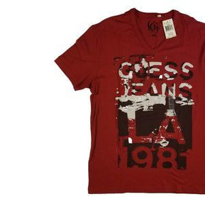 NWT Guess Jeans Graphic T-Shirt XXL